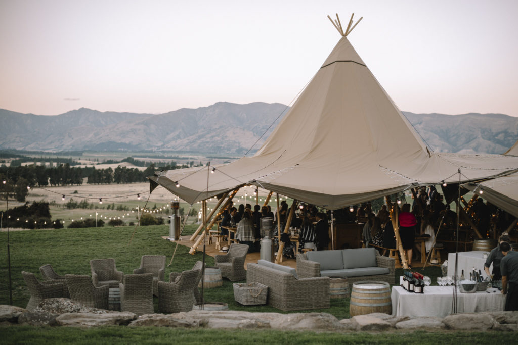 Gather and Gold Tipis wanaka and Queenstown wedding