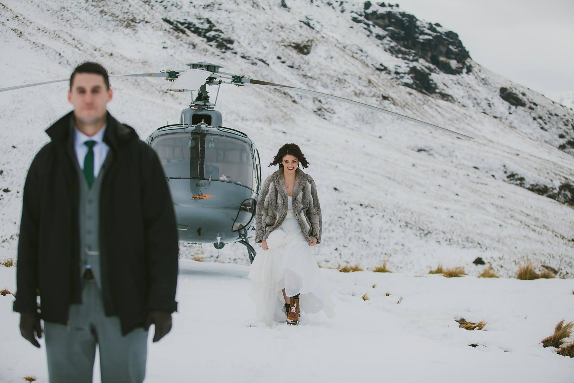 Heli Elopement on Bayonets, Queenstown