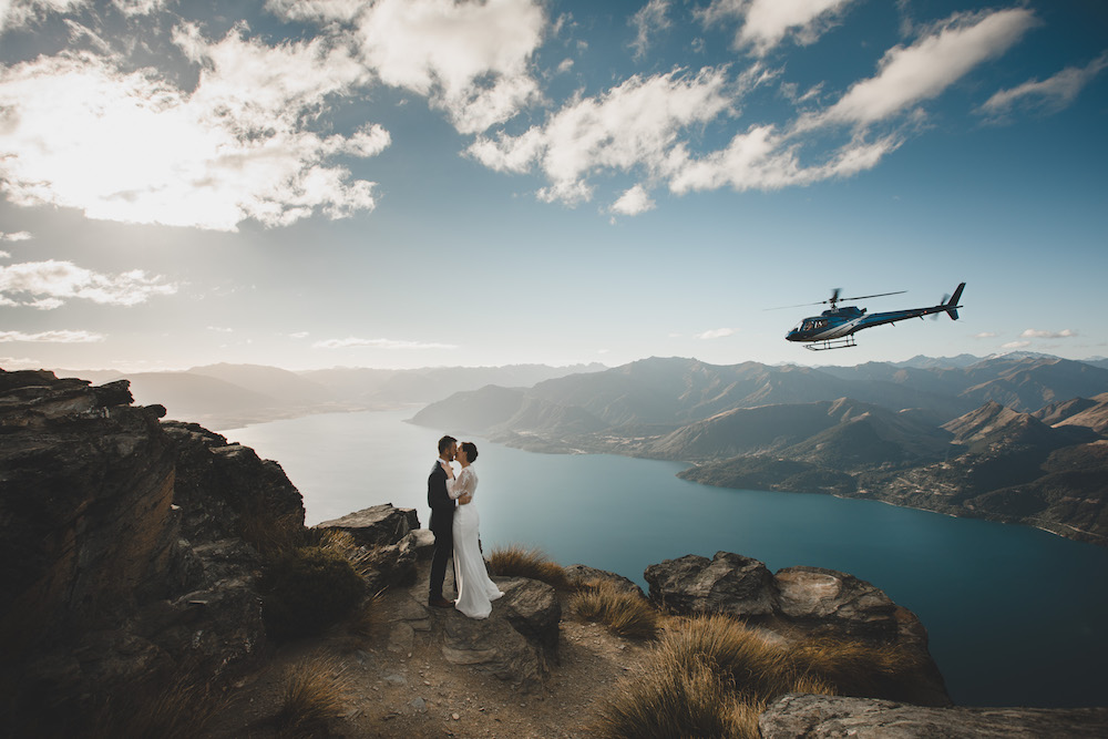 Queenstown Heli-Weddings – why go high?!
